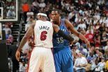 LeBron James e Kevin Durant (Photo by Joe Murphy/NBAE via Getty Images)