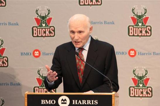 Herb Kohl, agora ex-dono do Bucks