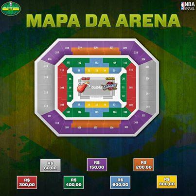 Mapa - HSBC Arena