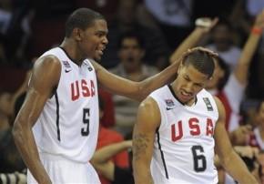 Durant e Rose lideram pré-convocação dos EUA para oMundial